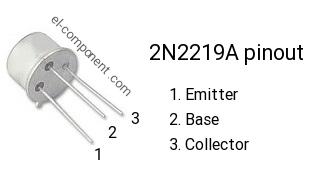 TRANSISTOR 2N2219A 2N 2219 A