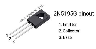 to-126 On Semiconductor 2n5195g transistor pnp