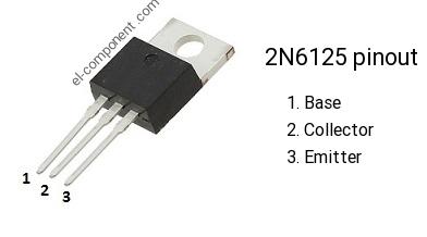 2N6125 transistor TO-220