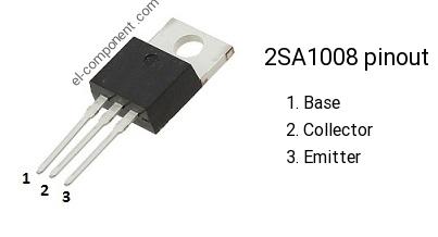2SA1080 FUJITSU TRANSISTOR TO-220 A1080
