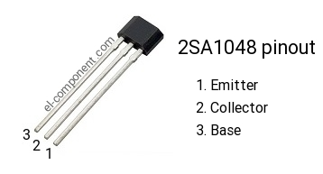 2SA1048 pnp transistor complementary npn, replacement ...
