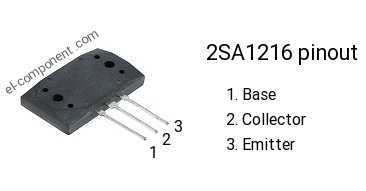 2SA1216 pnp transistor complementary npn, replacement ...