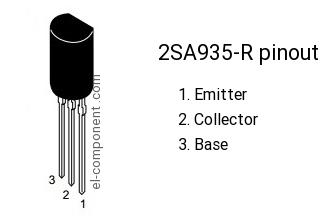 2sa935 транзисторы полупроводники импортные электронные.