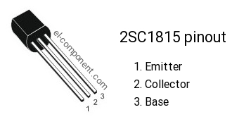 2sc1815-pinout Datasheet Transistor Pnp Npn on array ic, cct diagram amplifier constructed, presentation voltage using,