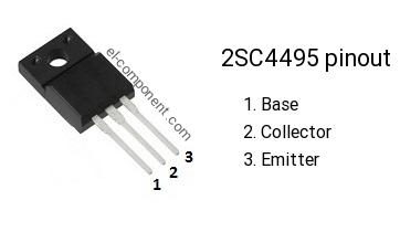 2SC4495 TRANSISTOR TO-220F C4495 2SC4495 /'UK COMPANY SINCE 1983 NIKKO/'