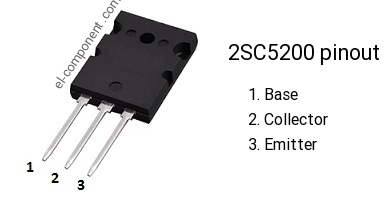2SC5200 npn transistor complementary pnp, replacement