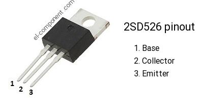 1pair 2SB596-O//2SD526-O B596-O//D526-O B596//D526 TO-220