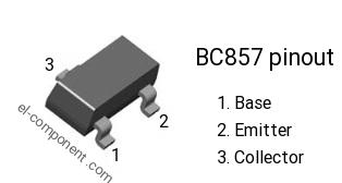 Bc857b datasheet