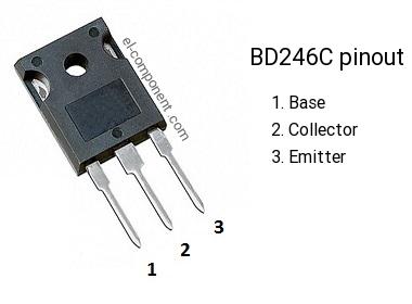 TRANSISTOR BD246C TO-3P