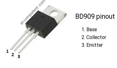 BD909 Silicon NPN-transistor  /'/'UK COMPANY/'/'
