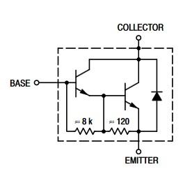 TIP102 equivalent circuit