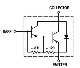 TIP107 equivalent circuit