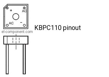 KBPC110 BRIDGE RECTIFIER