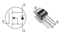 irf540 hf amplifier
